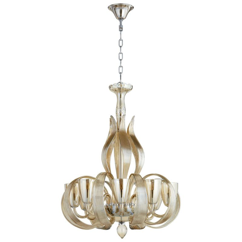Cyan Design Lucille Eight Light Chandelier Lucille 8 Light 1 Tier