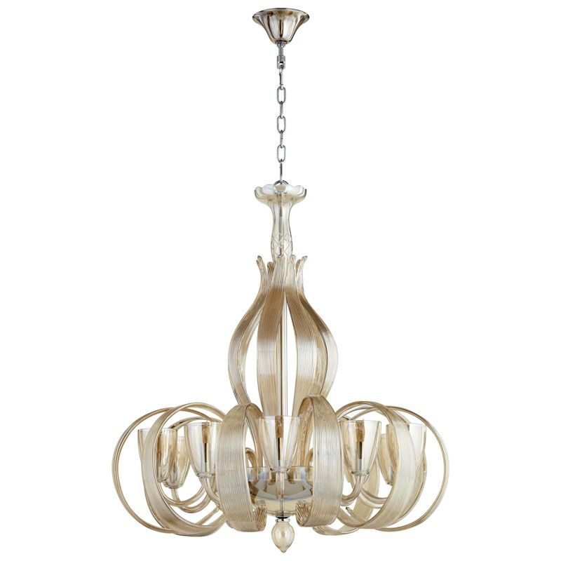 Cyan Design Lucille Ten Light Chandelier Lucille 10 Light 1 Tier