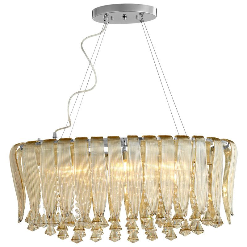 Cyan Design Olivia Six Light Pendant Olivia 6 Light Pendant with Brown