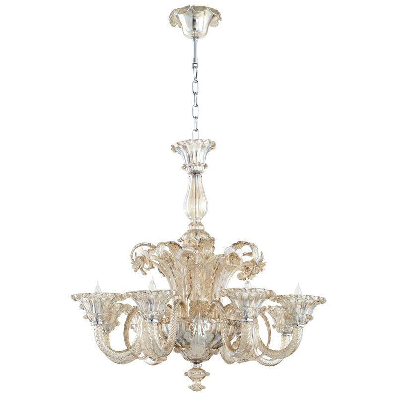 Cyan Design LaScala Eight Light Chandelier LaScala 8 Light 1 Tier