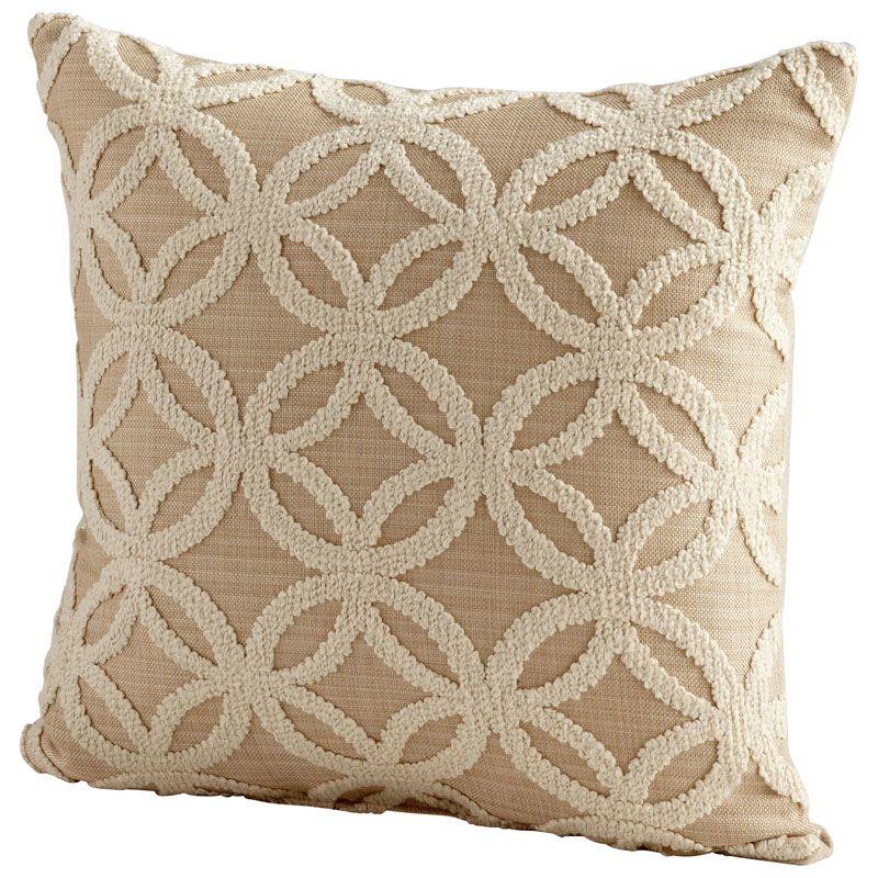 Cyan Design Circle Of Life Pillow Circle Of Life 18 x 18 Square Pillow