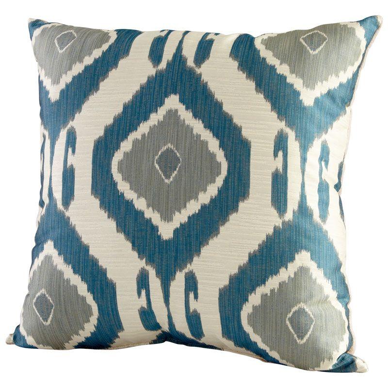 Cyan Design Navaho Pillow Navaho 22 x 22 Square Pillow Sage Green Home