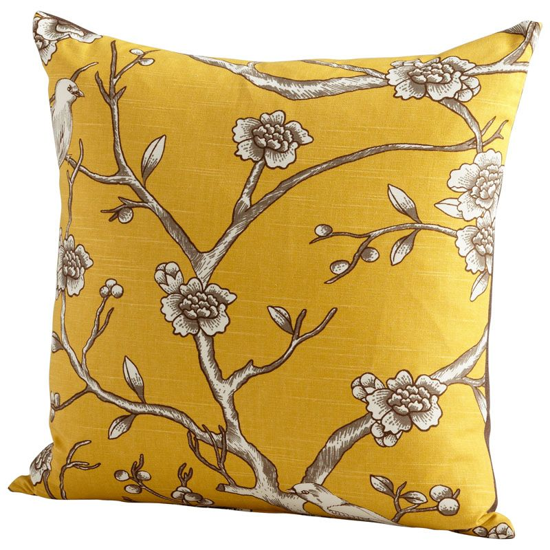Cyan Design Nature Lover Pillow Nature Lover 22 x 22 Square Pillow