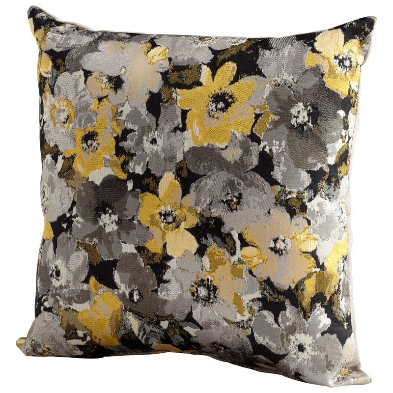 Cyan Design Field Of Flowers Pillow Field Of Flowers 18 x 18 Square
