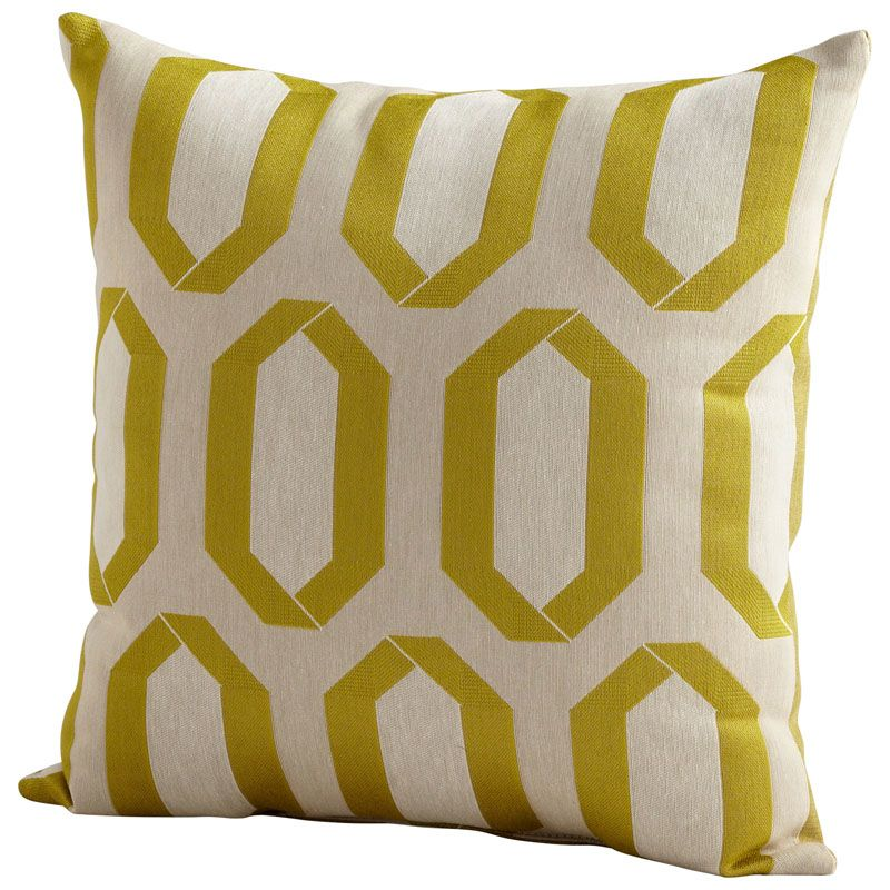 Cyan Design Limelight Pillow Limelight 22 x 22 Square Pillow Lime