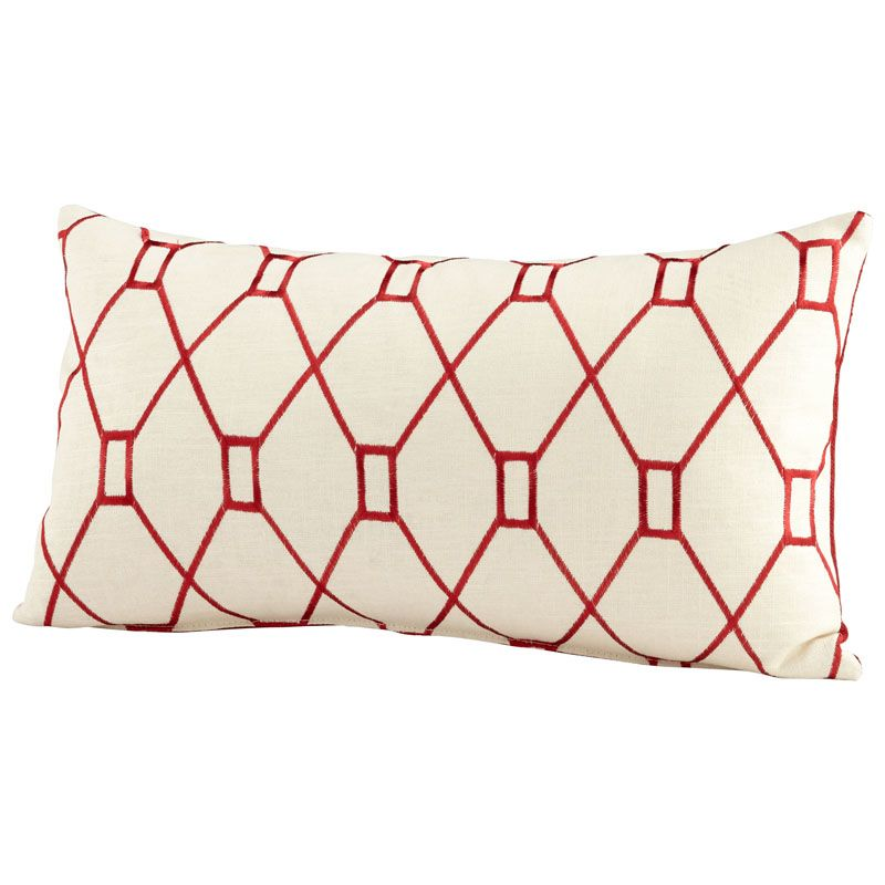 Cyan Design Obstruction Pillow Obstruction 14 x 24 Rectangular Pillow