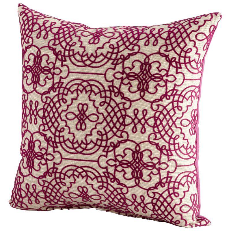 Cyan Design St. Lucia Pillow St. Lucia 18 x 18 Square Pillow Purple