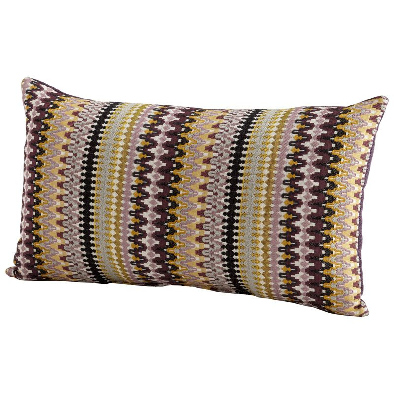 Cyan Design Ziggy Pillow Ziggy 14 x 24 Rectangular Pillow Purple Home