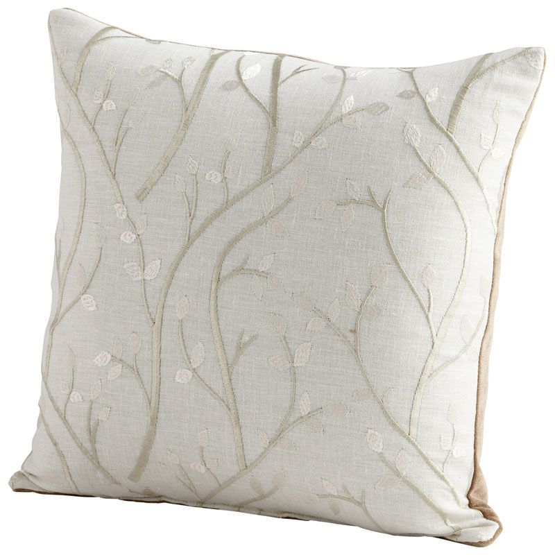 Cyan Design Stem The Flow Pillow Stem The Flow 18 x 18 Square Pillow