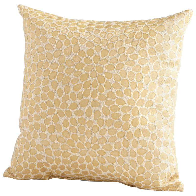 Cyan Design Geranium Pillow Geranium 18 x 18 Square Pillow Gold Home