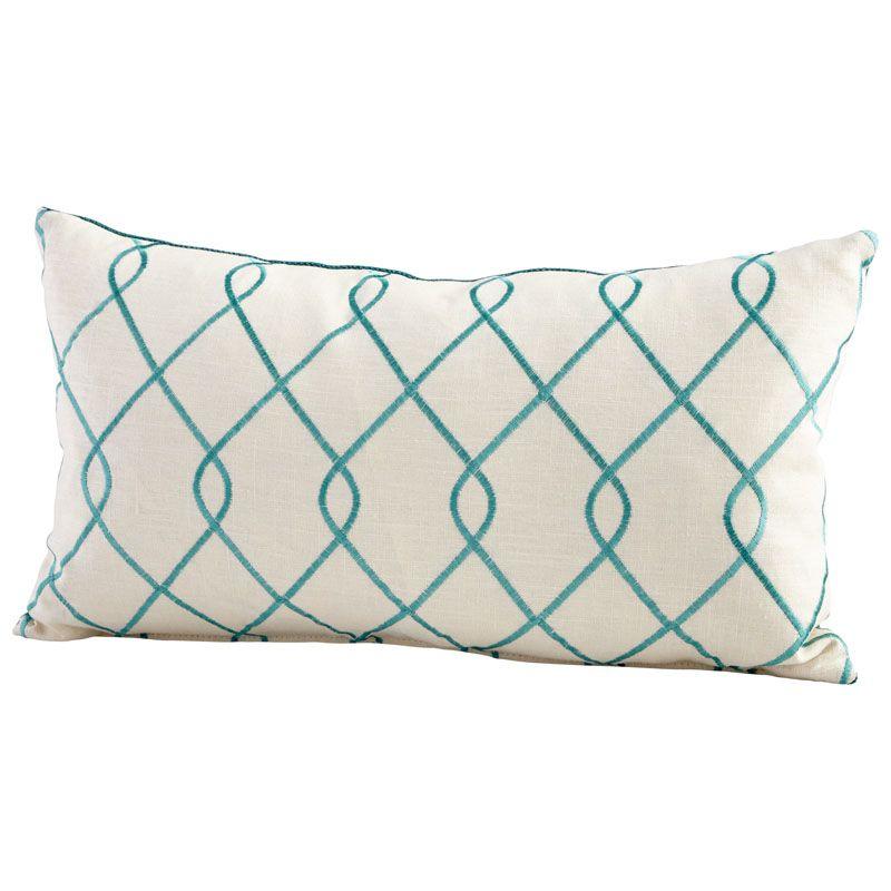 Cyan Design Chain Link Pillow Chain Link 14 x 24 Rectangular Pillow
