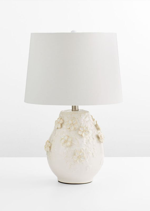 Cyan Design Eire Table Lamp Eire 1 Light Accent Table Lamp with White