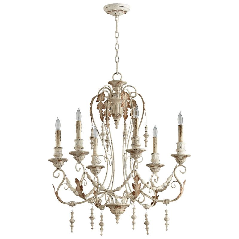 Cyan Design Lolina Six Light Chandelier Lolina 6 Light 1 Tier Candle