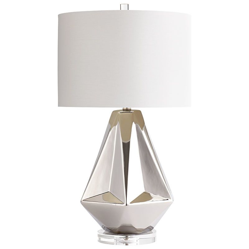 Cyan Design Silver Sails Table Lamp Silver Sails 1 Light Accent Table