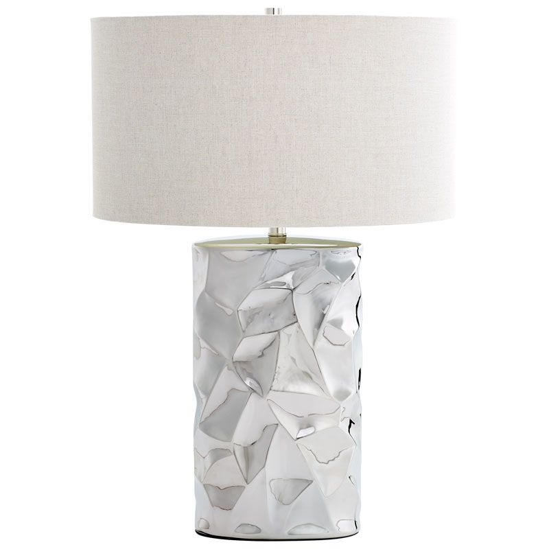 Cyan Design Liberty Lamp Liberty 1 Light Accent Table Lamp with White