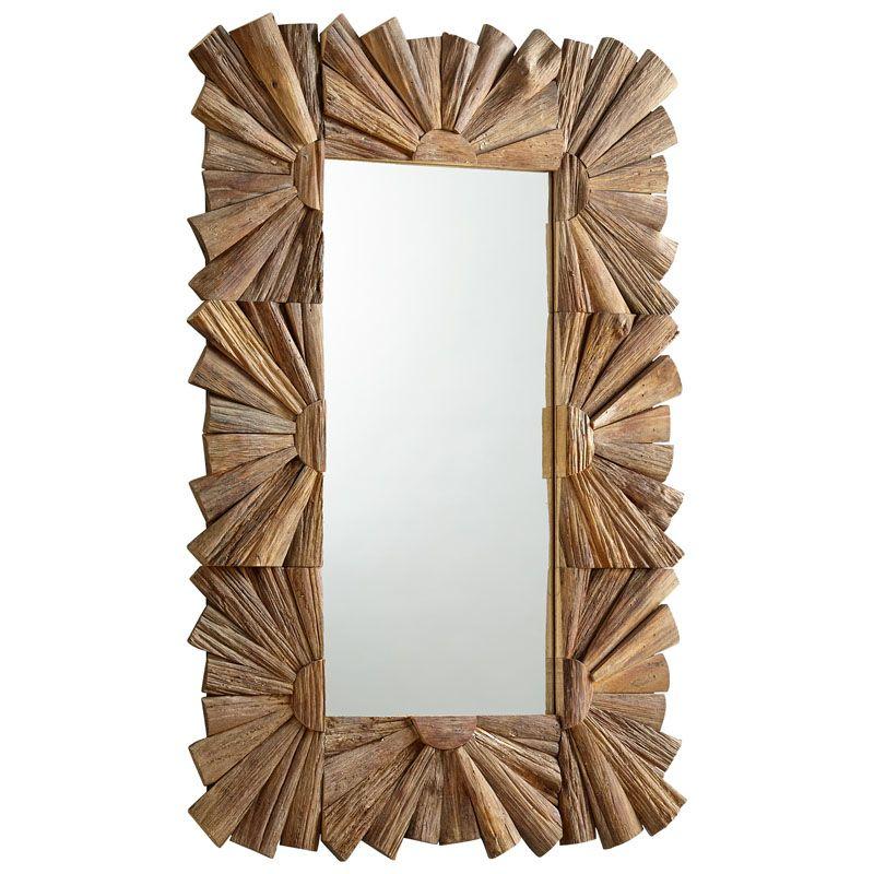 Cyan Design Swanson Mirror 47.25 x 30 Swanson Rectangular Wood Frame