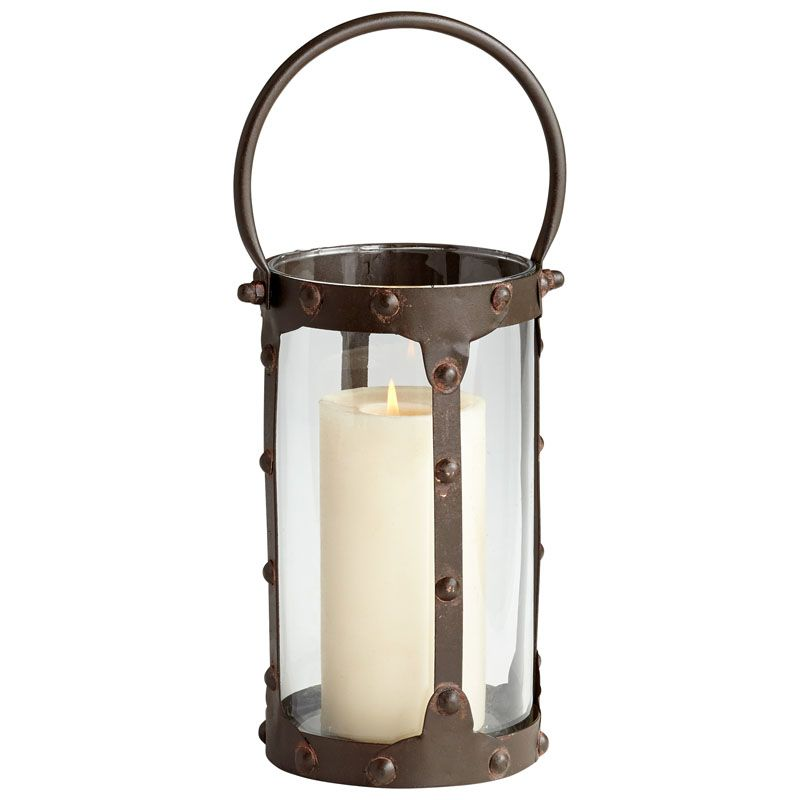 Cyan Design Small Borin Candle Holder Borin 13.5 Inch Tall Iron and
