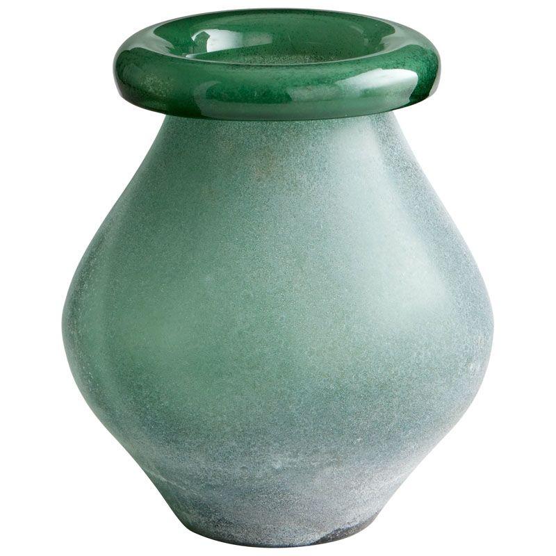 Cyan Design Medium Polli Vase Polli 10.75 Inch Tall Glass Vase Sage