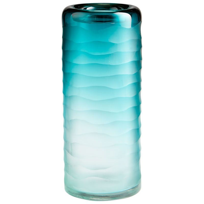 Cyan Design Small Thelonious Vase Thelonious 11 Inch Tall Glass Vase
