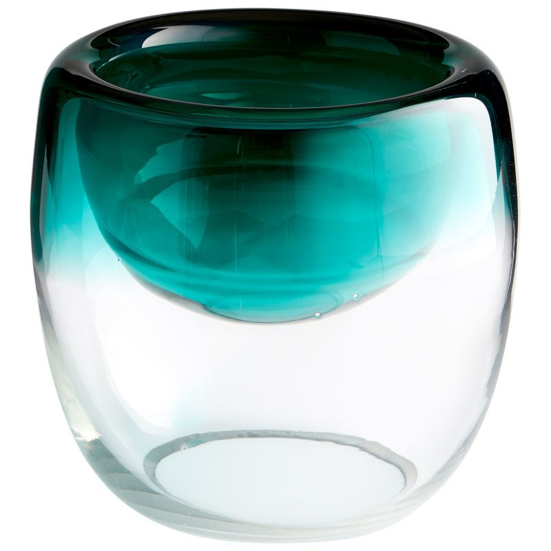 Cyan Design Large Abyssal Bowl Abyssal 8.5 Inch Diameter Glass