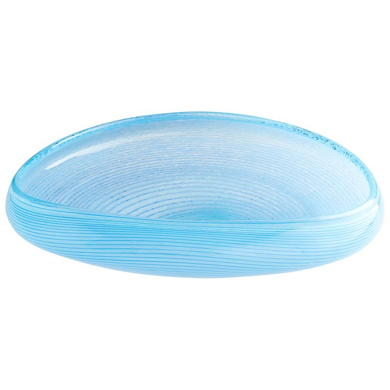 Cyan Design Large Skektor Bowl Skektor 23.5 Inch Wide Glass Decorative