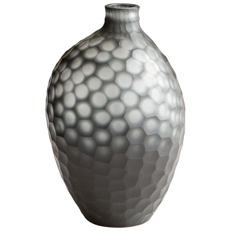 Cyan Design Medium Neo-Noir Vase Neo-Noir 9.5 Inch Tall Glass Vase