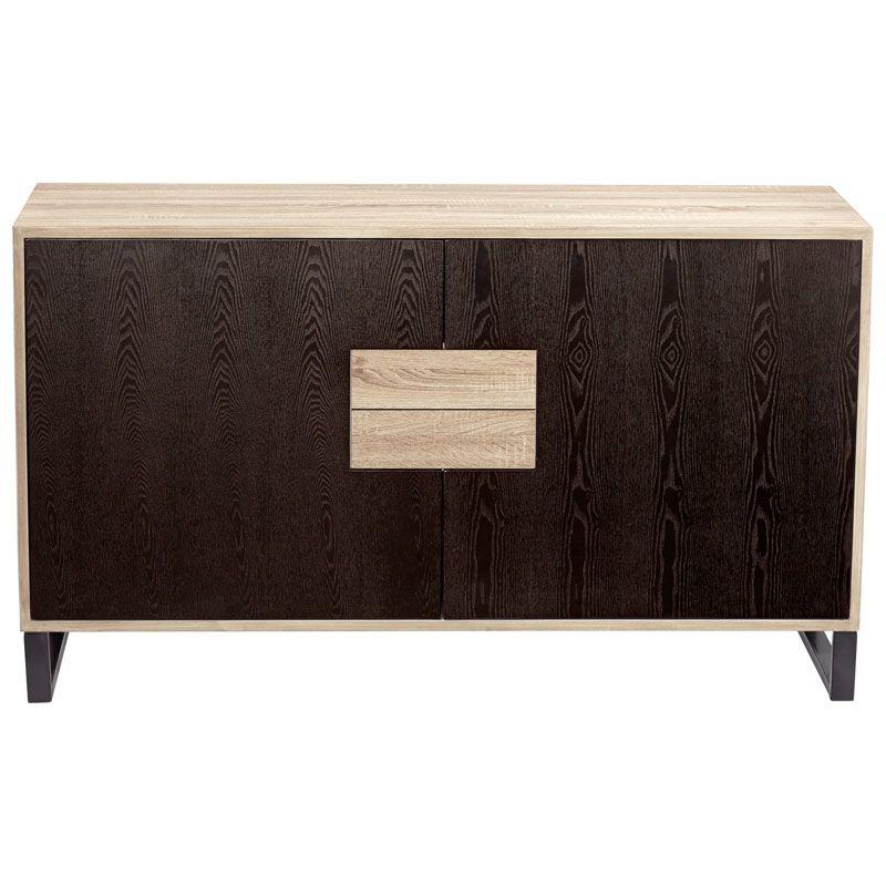 Cyan Design Miles Cabinet Miles 32 Inch Tall Wood Cabinet Oak Veneer