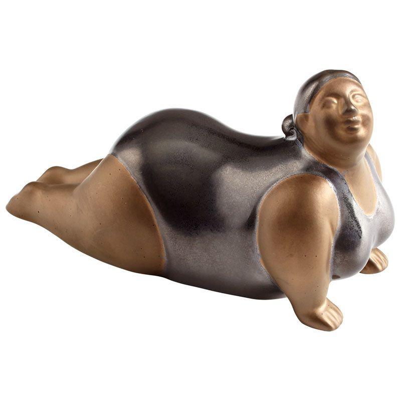Cyan Design Yoga Sue Sculpture Yoga Sue 3.75 Inch High Ceramic Statue