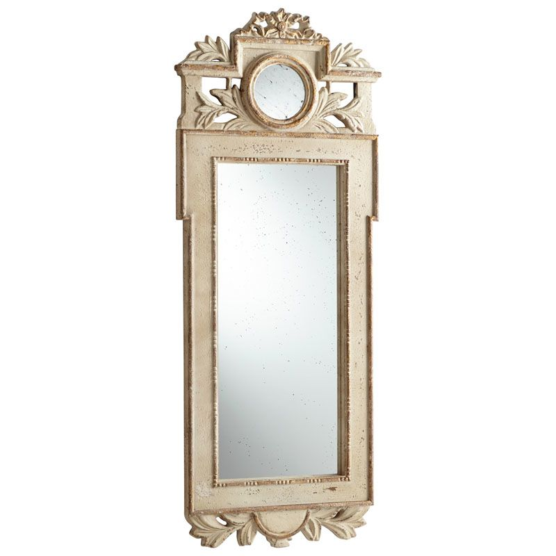 Cyan Design Toulouse Mirror 59.5 x 22.25 Toulouse Specialty Wood Frame