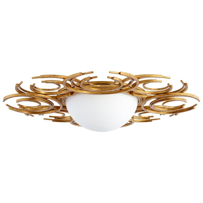 Cyan Design Vivian Two Light Ceiling Mount Vivian 2 Light Flush Mount