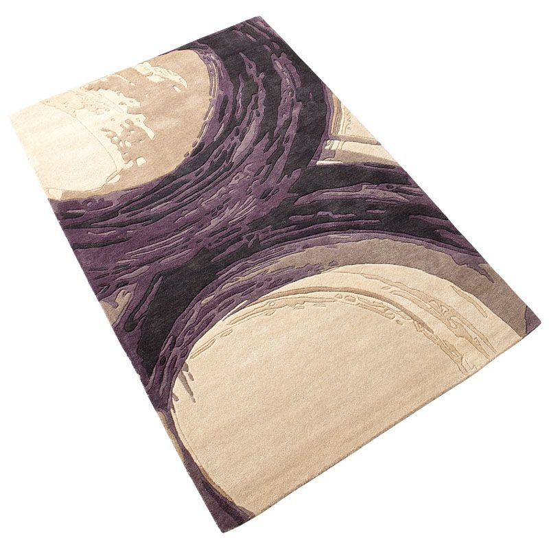 Cyan Design Purple Percival Rug Purple Percival Polyester Rug Made in