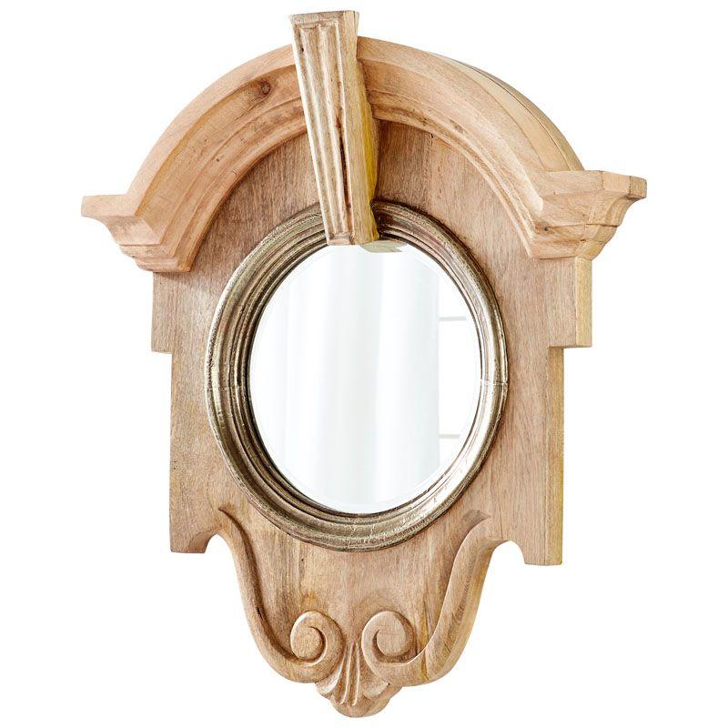 Cyan Design Mahogany Mirror 34.25 x 29.75 Mahogany Specialty Wood