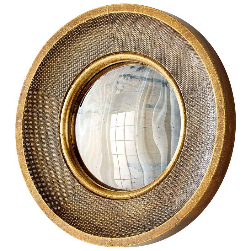 Cyan Design Bronte Mirror 7 Inch Diameter Bronte Wood Mirror Made in