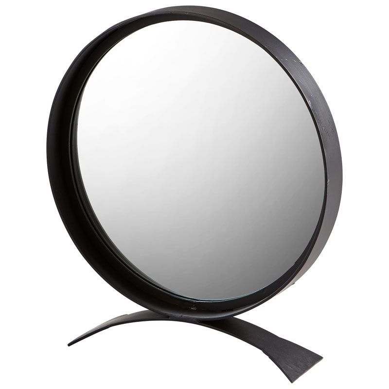 Cyan Design Orbem Mirror 27.25 x 24 Orbem Circular Iron Frame Mirror