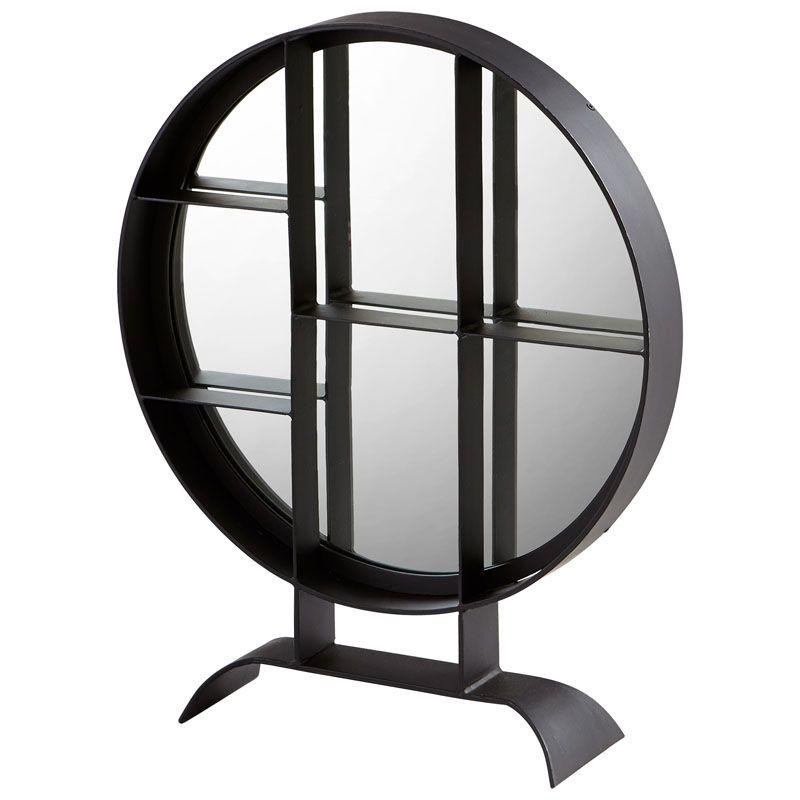 Cyan Design Small Nexus Mirror 27 x 22 Nexus Circular Iron Frame