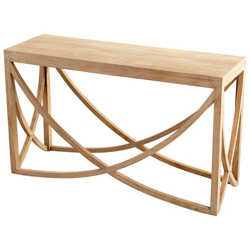 Cyan Design Lancet Arch Console Table Lancet 53 Inch Long Wood Console