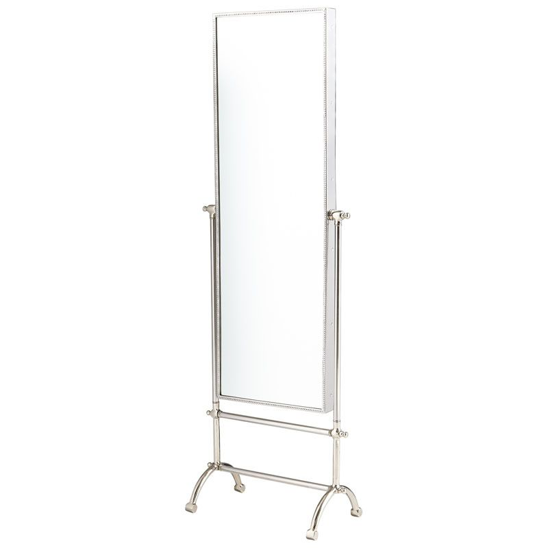 Cyan Design Cassius Mirror 58.25 x 19.25 Cassius Rectangular Aluminum Sale $897.50 ITEM#: 2867810 MODEL# :7022 UPC#: 190808028464 :
