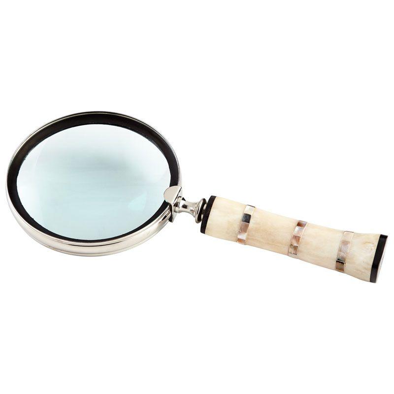 Cyan Design Watson Magnifier Watson 1.5 Inch Tall Brass Magnifier Made