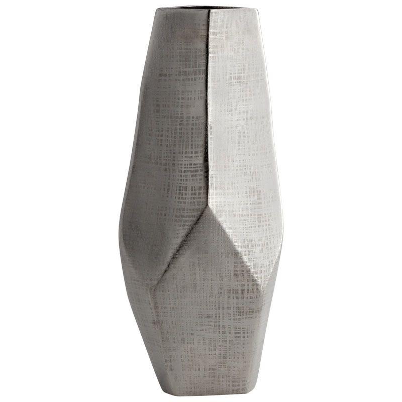 Cyan Design Large Celcus Vase Celcus 19.25 Inch Tall Aluminum Vase