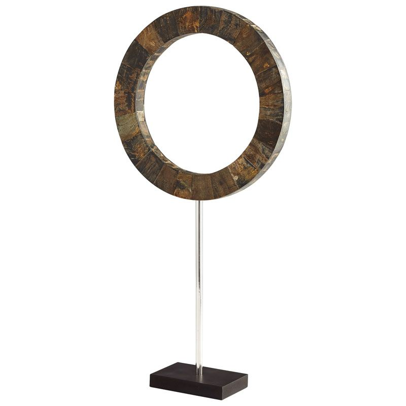 Cyan Design Large Portal Sculpture Portal 26.5 Inch Tall Horn Iron