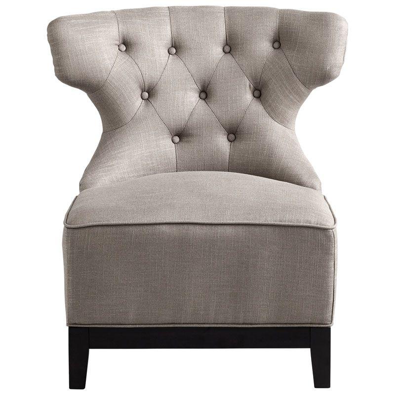 Cyan Design Niles Chair Niles 32.75 Inch Tall Wood Side Chair Grey