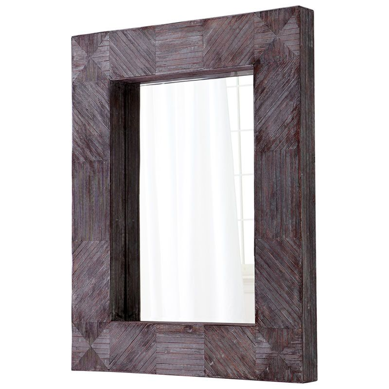 Cyan Design Gnosis Mirror 47.75 x 37 Gnosis Rectangular Wood Frame