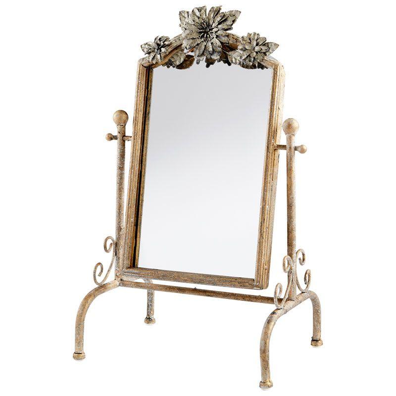 Cyan Design Orleans Mirror 17 x 9.75 Orleans Arched Iron Frame Mirror