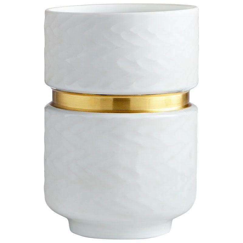 Cyan Design Small Stockholm Vase Stockholm 10.25 Inch Tall Glass Vase