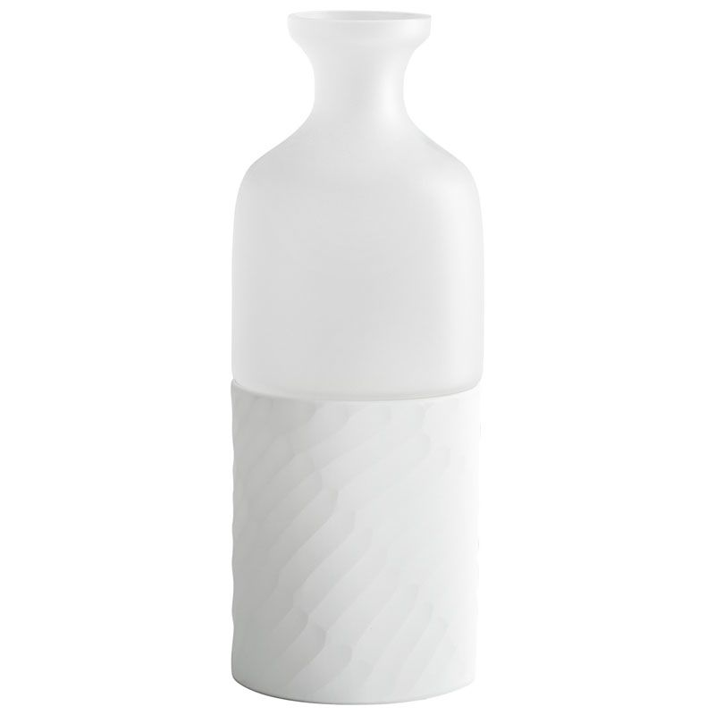 Cyan Design Small Sereno Vase Sereno 13.25 Inch Tall Glass Vase Clear