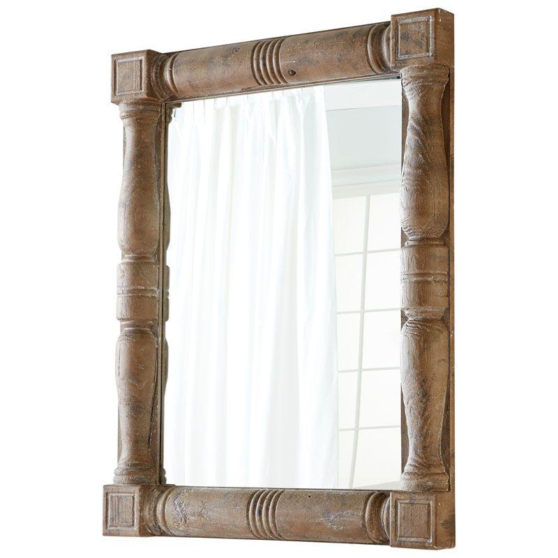 Cyan Design Bohemia Mirror 56.75 x 44 Bohemia Square Wood Frame Mirror