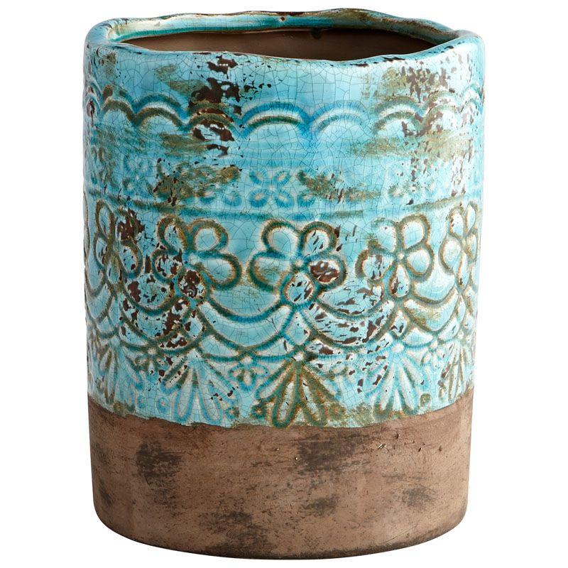 Cyan Design Small Geneva Vase Geneva 9.25 Inch Tall Terracotta Vase