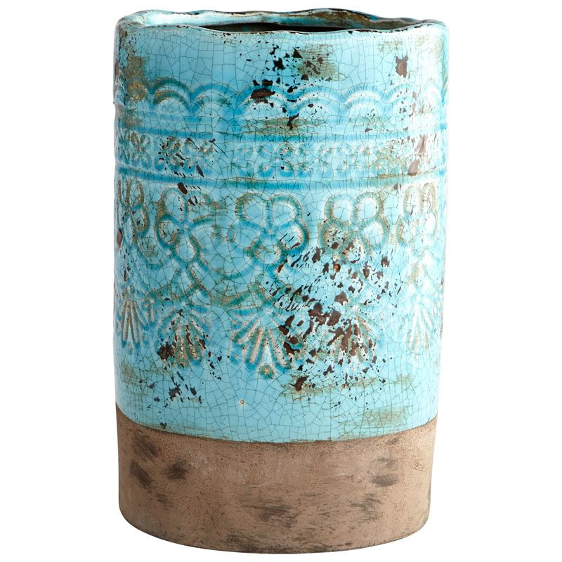 Cyan Design Large Geneva Vase Geneva 11.5 Inch Tall Terracotta Vase