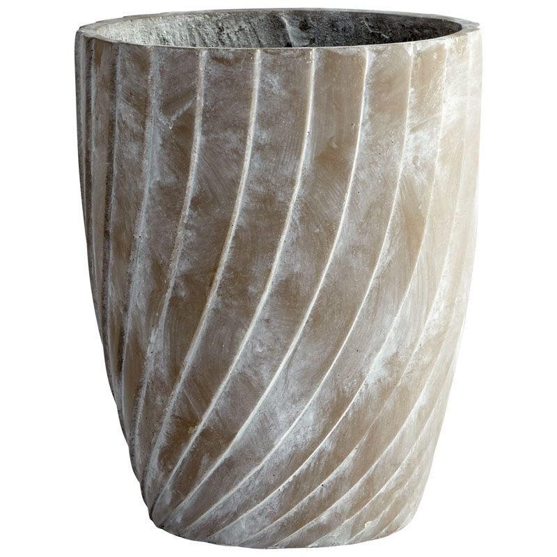 Cyan Design Large Maximus Planter Maximus 16 Inch Tall Cement Planter