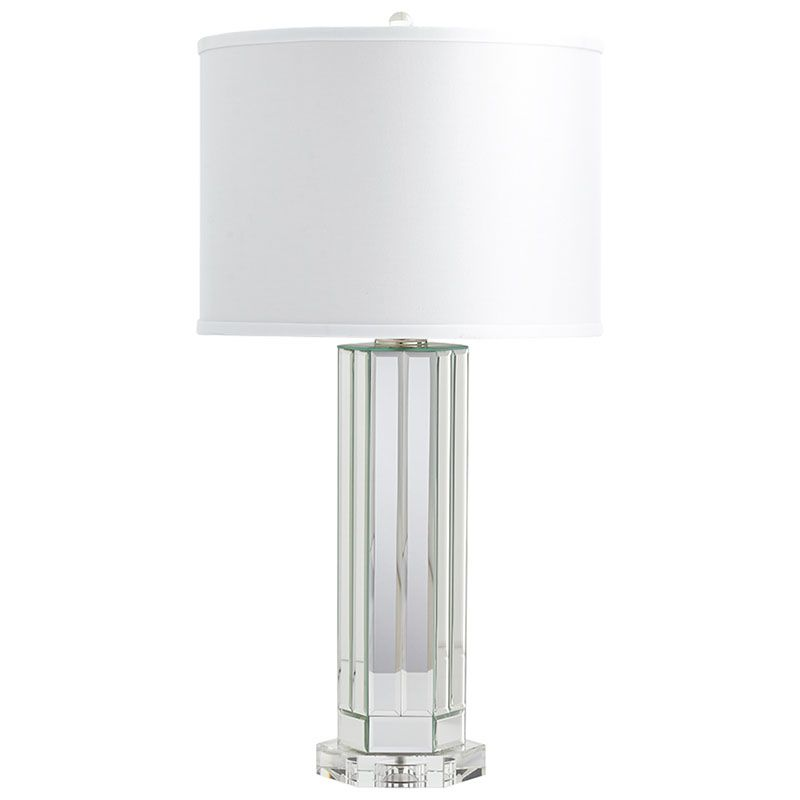Cyan Design Lucida Lamp Lucida 1 Light Accent Table Lamp with White